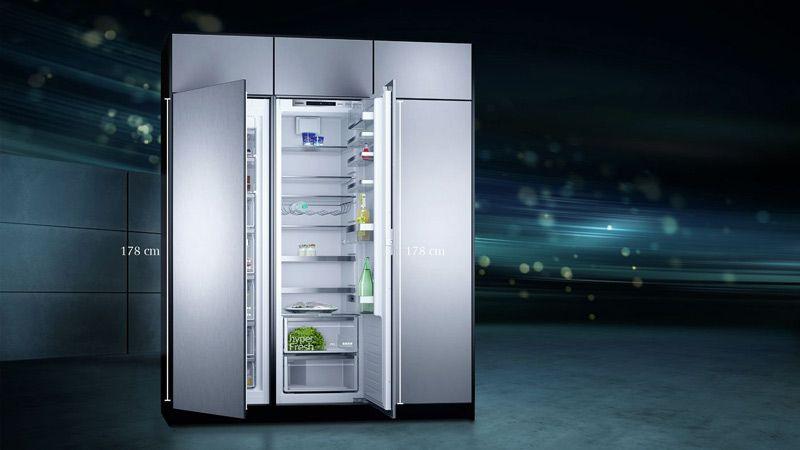 Side By Side Kühlschrank Einbauen : Modularfit von siemens der küchenladen küchen küchenstudio euskirchen